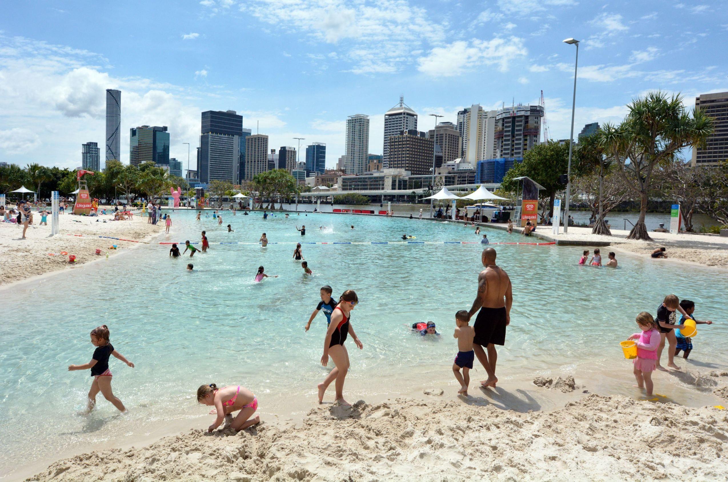 Man Made Beach Brisbane Australia The World S Best Urban Beaches