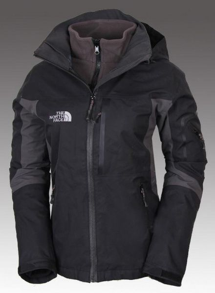ef852995ad7 The North Face Women s Gore-Tex 3 in 1 Triclimate Jacket Black ...