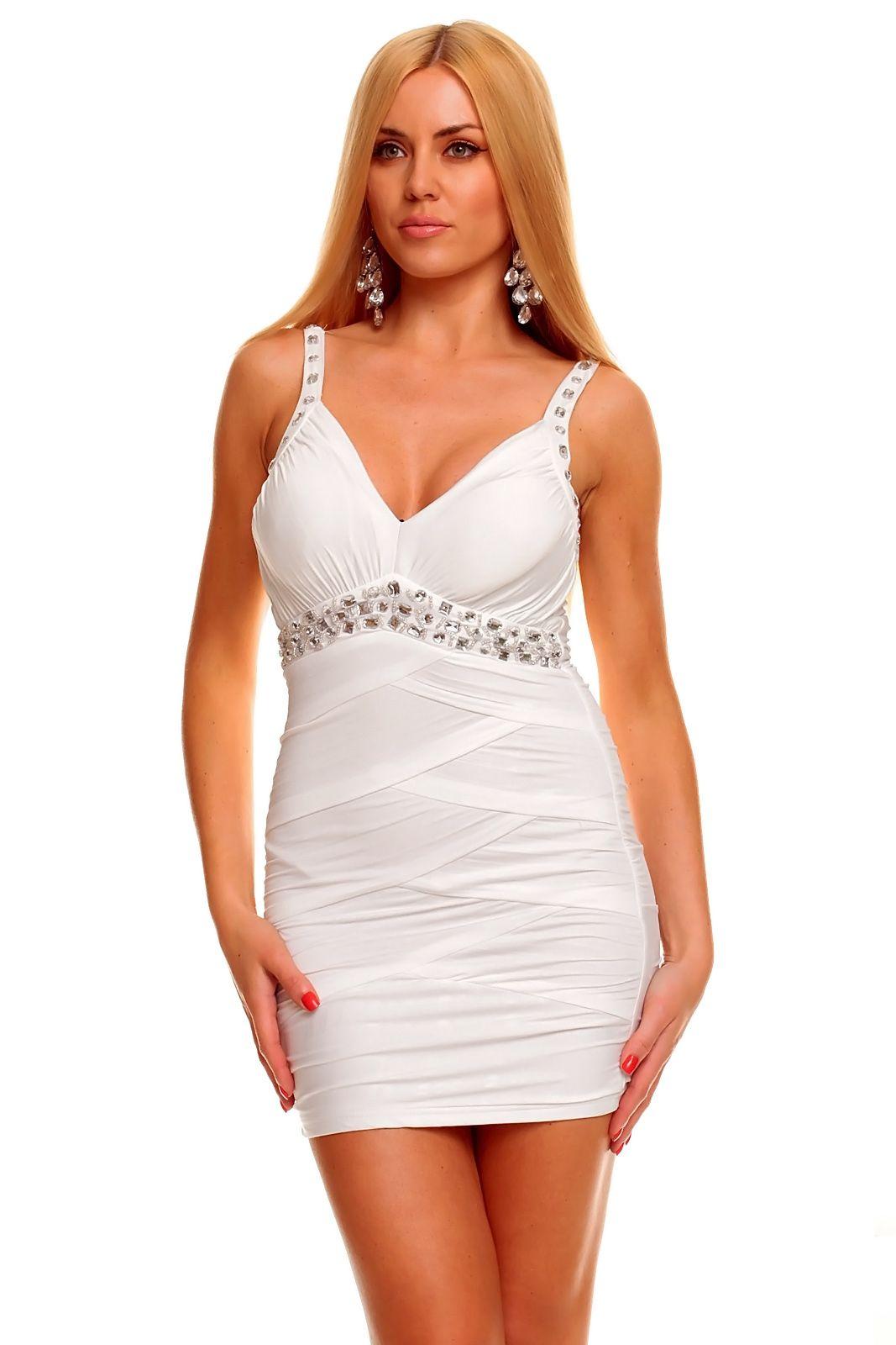 44bd1c549c4 Dámské šaty Ethina - bílé