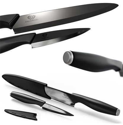 Dalstrong Ceramic Knives Set   Infinity Blades   2 Piece Gift Set Review