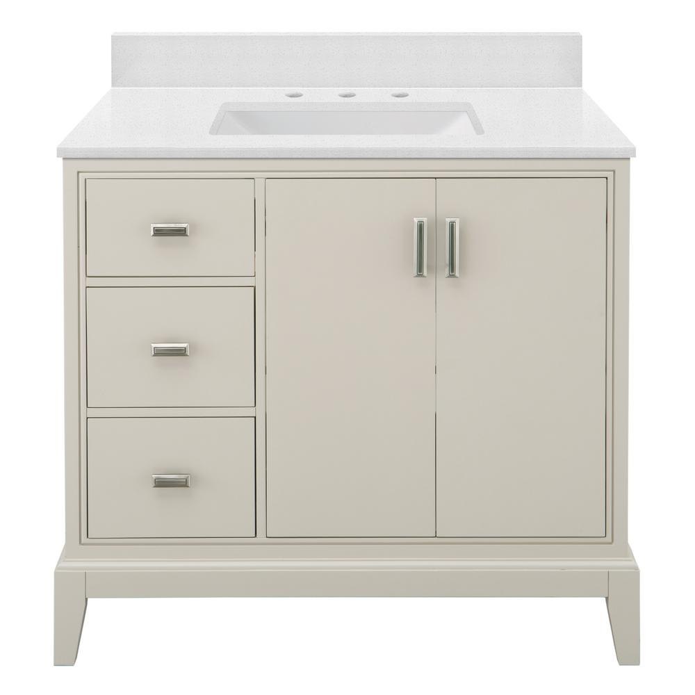 Home Decorators Collection Shaelyn 37 In W X 22 In D Bath Vanity