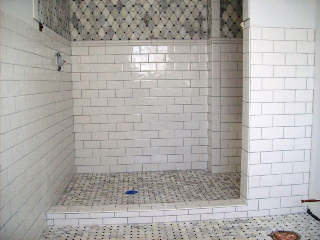 Bathroom Remodels With Subway Tile resemblance of marble subway tile shower offering the sense of