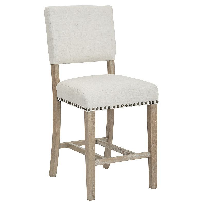 Ave Six Carson Open Back Counter Stool