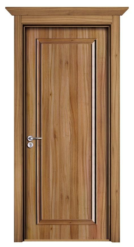 Wood door providing beauty with security to america pella for Wood veneer interior doors