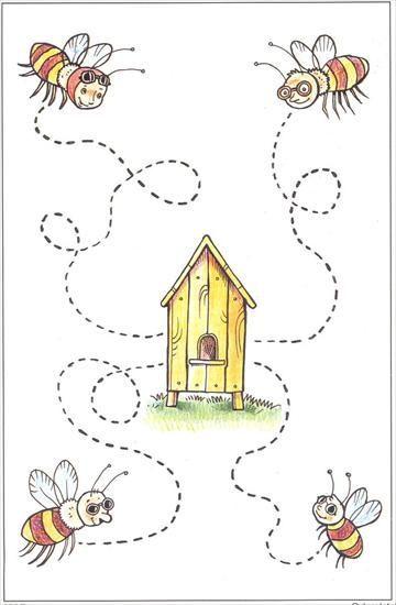 Ressegueix   Tehtäviä   Pinterest   Bienen, Schwungübungen und Übungen