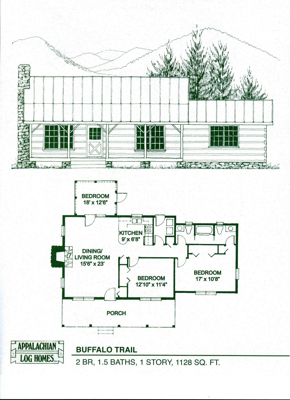 Buffalo Trail Appalachian Log Timber Homes Rustic Design For Contemporary Living Log Home Floor Plans Cabin House Plans Cabin Floor Plans