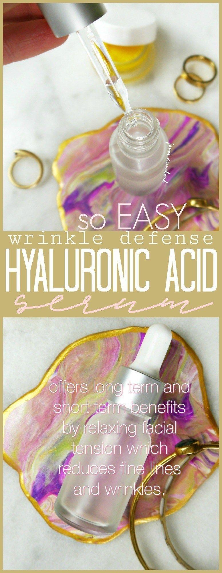 Photo of DIY Hyaluronic Acid Wrinkle Defense Serum – Jenni Raincloud