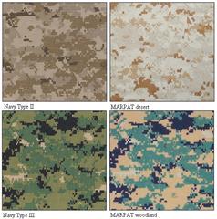 Marpat Compared To Nwu Type Ii And Type Iii Prototypes Camouflage Camouflage Uniform Marpat Camo
