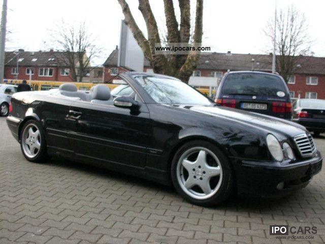 2001 Mercedes Benz Clk 230k Facelift Checkbook Full Equipment