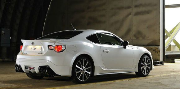 Toyota Gt86 2017 Is A Sporty Coupe Produced By From
