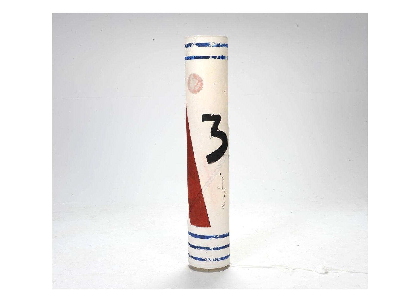 727 sailbags - lampe colonne peinte par gwen h | [inspiration