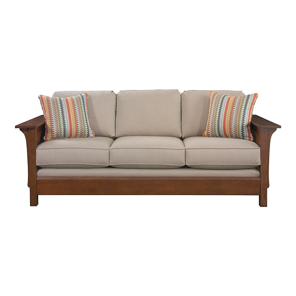 Grove Park Sofa by Bassett -- sale: $1,699 -- Mission/Craftsman ...
