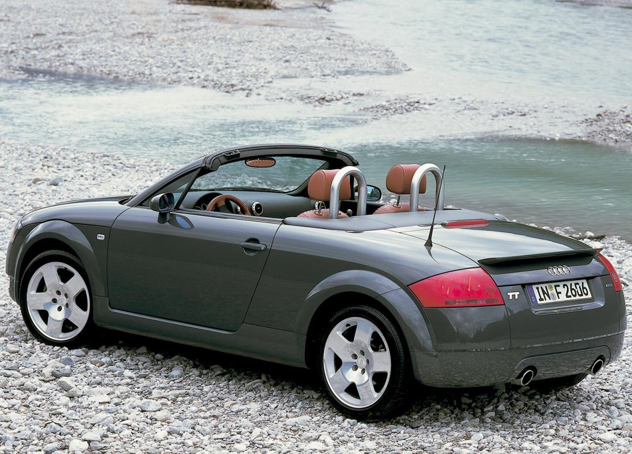My new car 2004 audi tt roadster i love the baseball stitched leather seats