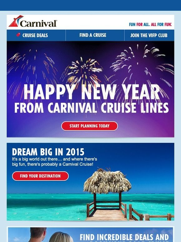 Happy New Year, We Have Exclusive Cruise Deals For You