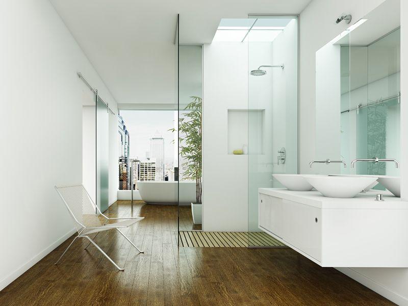 Luxurious Modern Bathroom Decor With Elegant Decoration