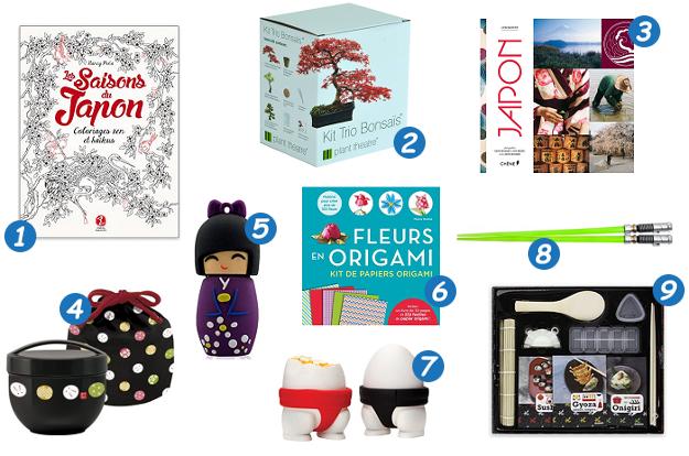 Idee cadeau culture japonaise