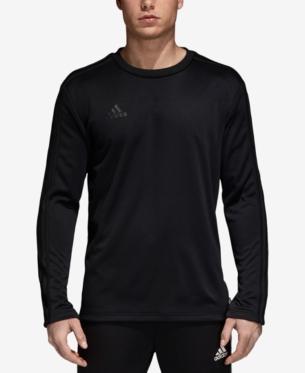 138d86030fe2c adidas Men s Tango ClimaLite Long-Sleeve T-Shirt - Black 2XL in 2019 ...