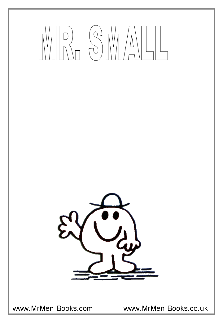 Mr Men Colouring Pages   amazing coloring pictures   Pinterest