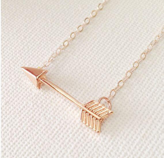 Golden Arrow Necklace