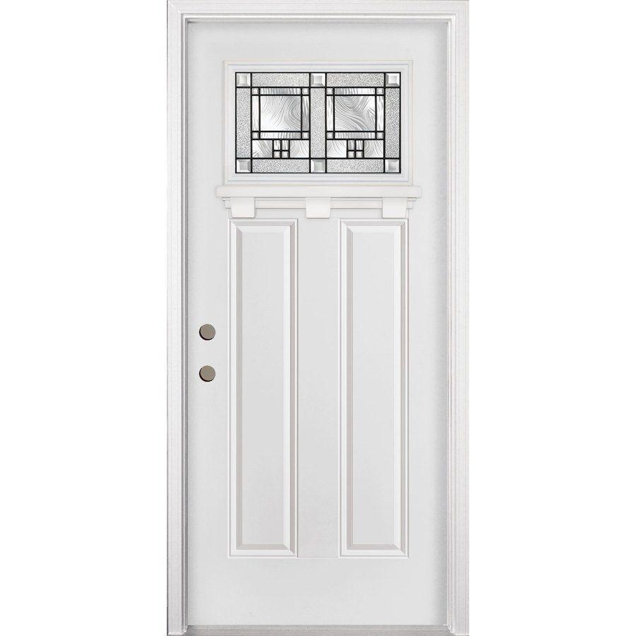 34 In X 80 In Concord Left Hand Steel Entry Door Steel Entry Doors Entry Doors Steel Doors