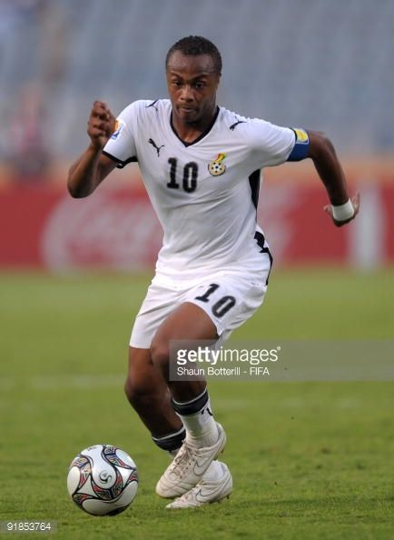 Ghana Captain Andre Ayew During The Fifa U20 World Cup Semi Final Match Between Ghana And Hungary At The Cairo Interna Football Photos Fifa U20 World Cup Cairo