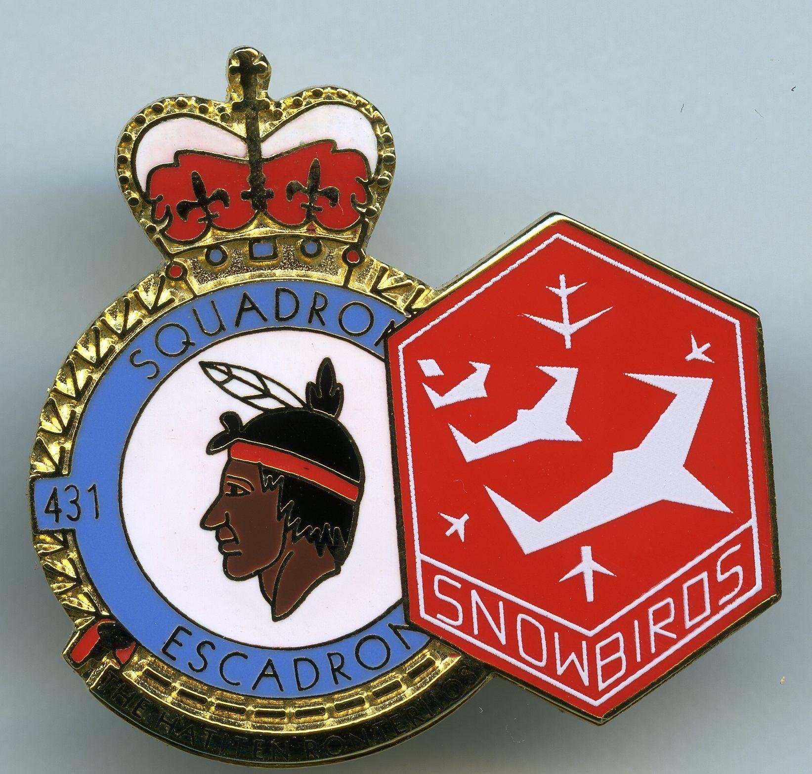 Snowbirds 431 Air Demonstration Squadron Badge