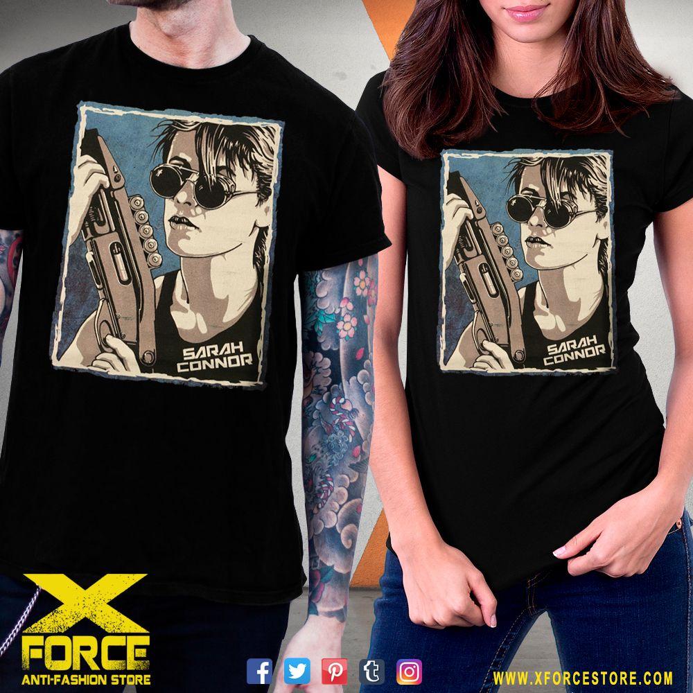 Camiseta Exterminador Do Futuro Sarah Connor Blusa Badass Blusas