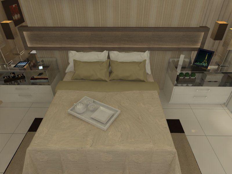 Suíte Master - Apartamento Residencial - Cobertura