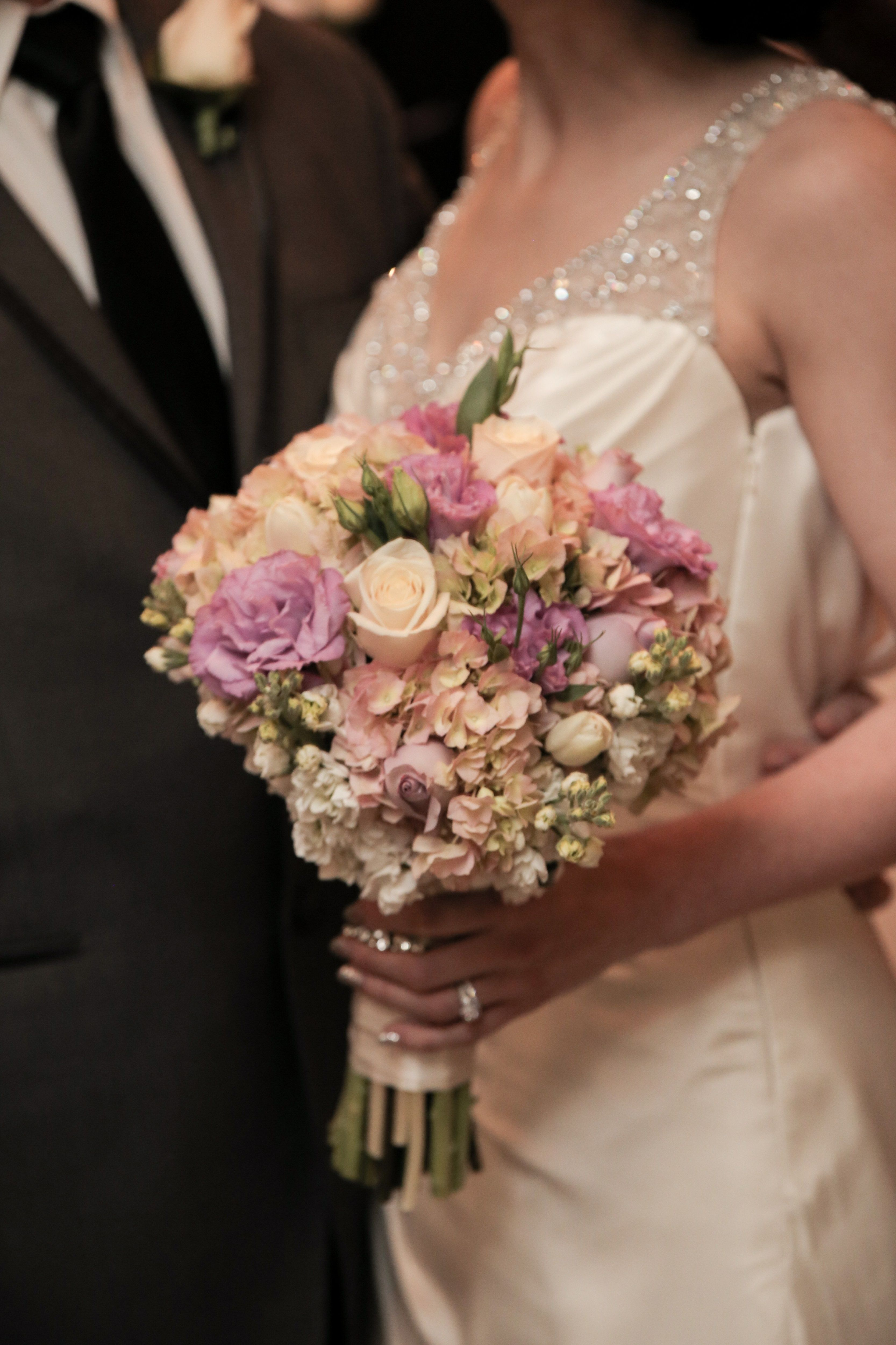 Blush Bridal Bouquet Perfect For Vintage Weddings Wedding Flower Ideas