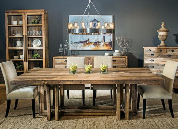 rustic dining room ideas google search - Rustic Modern Dining Room Ideas