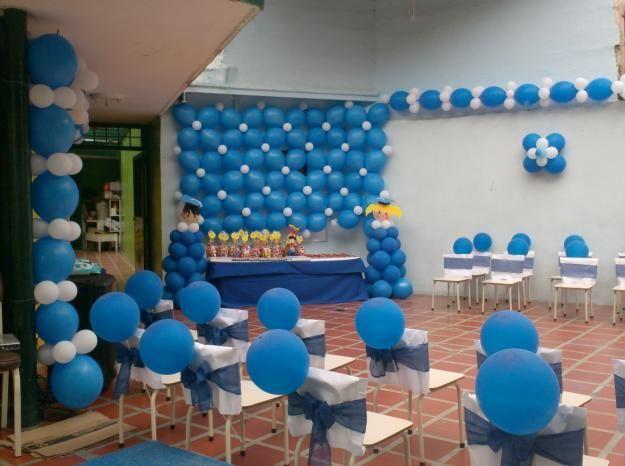 Decoracion graduacion infantil buscar con google - Jardines chicos decoracion ...