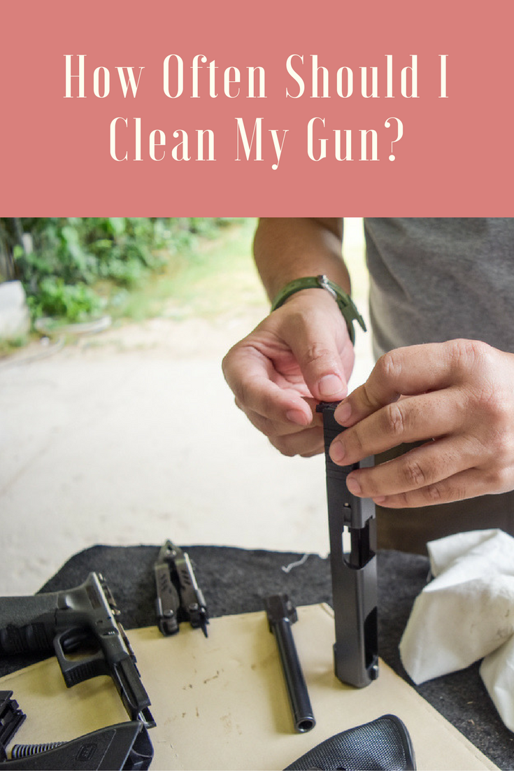 Are you wondering: How often should I clean my gun? Read