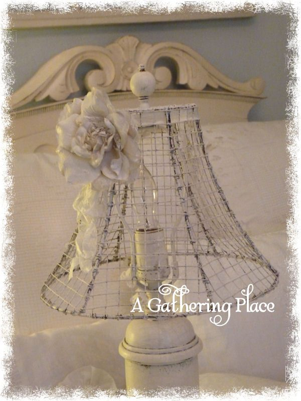 Chicken wire lamp and hand painted latex rose lamps pinterest chicken wire lamp and hand painted latex rose keyboard keysfo Images