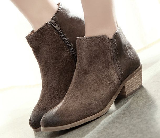 Casual Ankle Boots - Cr Boot