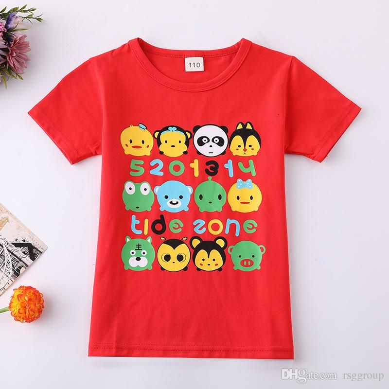 c3c5fecb8 One Piece Available Factory Price New Arrival Much Stoch Kids Tops for  Summer Cute Boys Tshirts