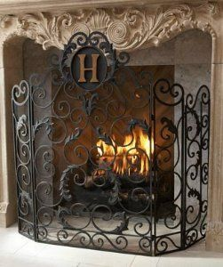fireplace screen | If I had a money tree.... | Pinterest ...