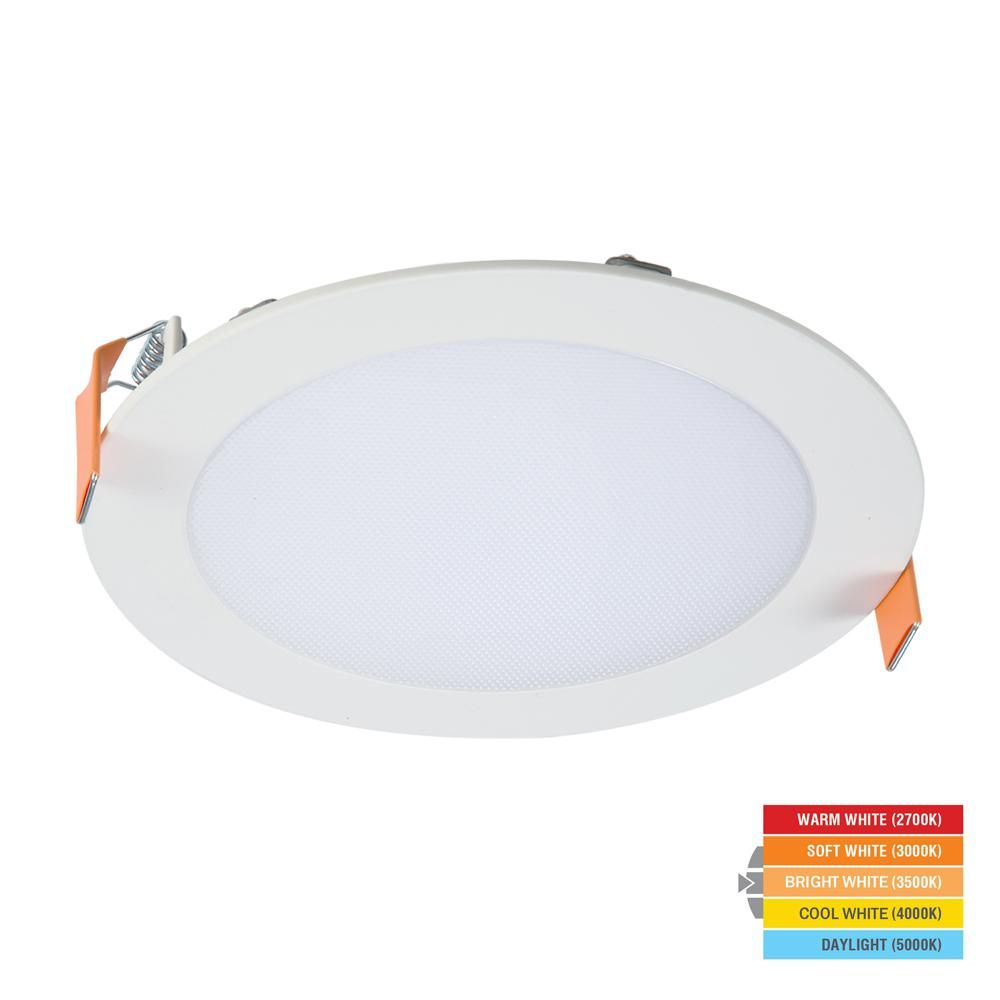 halo hlb 6 in white round integrated