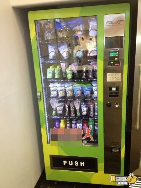 Used Avt Healthy Vending Drink Cold Food Vending Machines For