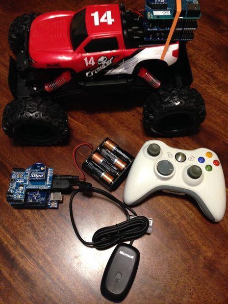 Arduino Xbox RC Car Hack (Maisto Rock Crawler) | Arduino Projects