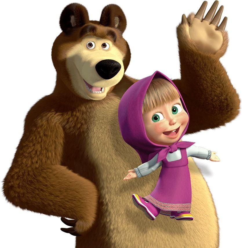 Masha Y El Oso Casa Marsha And The Bear Masha And The Bear Baby Birthday Party Girl