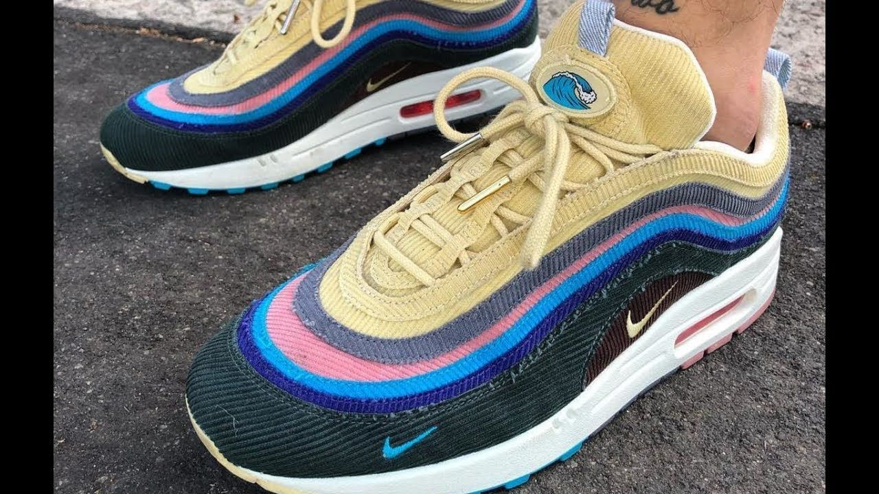 wholesale dealer 71fd9 7a985 Sean Wotherspoon Nike Air Max 97 x Air Max 1 Hybrid GET from aj23shoes.com