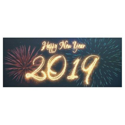 sparkling happy new year 2019 fireworks banner new years eve happy new year designs party celebration saint sylvesters day