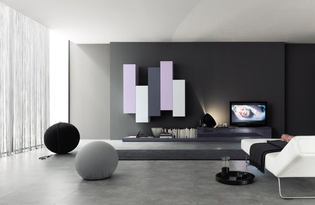 nett wohnwand modern hochglanz | deutsche deko | pinterest ... - Wohnzimmerschrank Modern Wohnzimmer