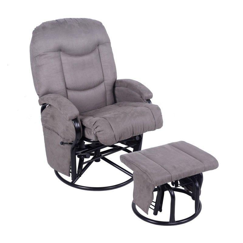 4baby Glider Ottoman Slate Grey Glider Chair Grey Glider