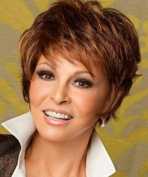 Shag Short Hairstyle For Thick Hair And Oval Face Short Hairstyles For Thick Hair Short Hair With Layers Thick Hair Styles