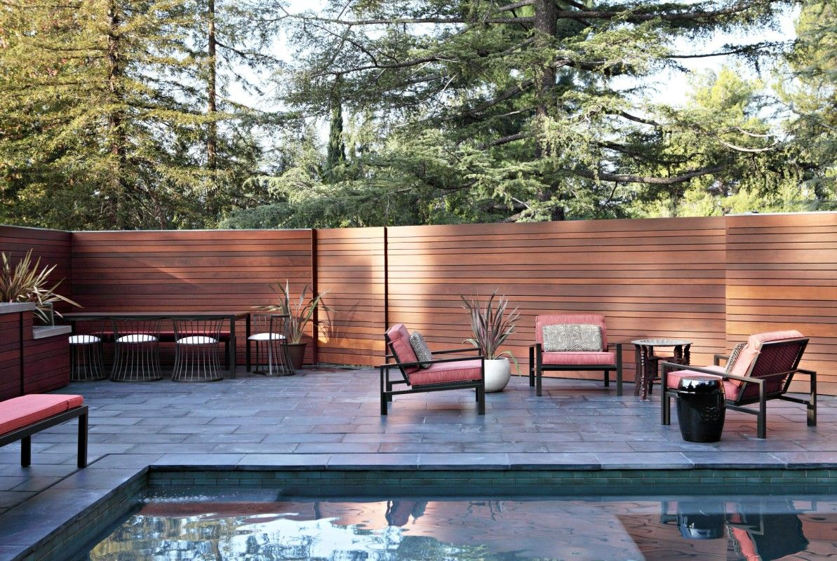 Cool mcm pool and fencing mid century modern pinterest cool mcm pool and fencing mid century modern pinterest wooden fences mid century and backyard baanklon Choice Image
