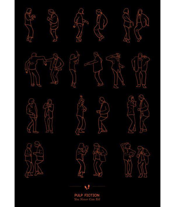IdeaFixa » Dancinhas ilustradas de filmes e seriados