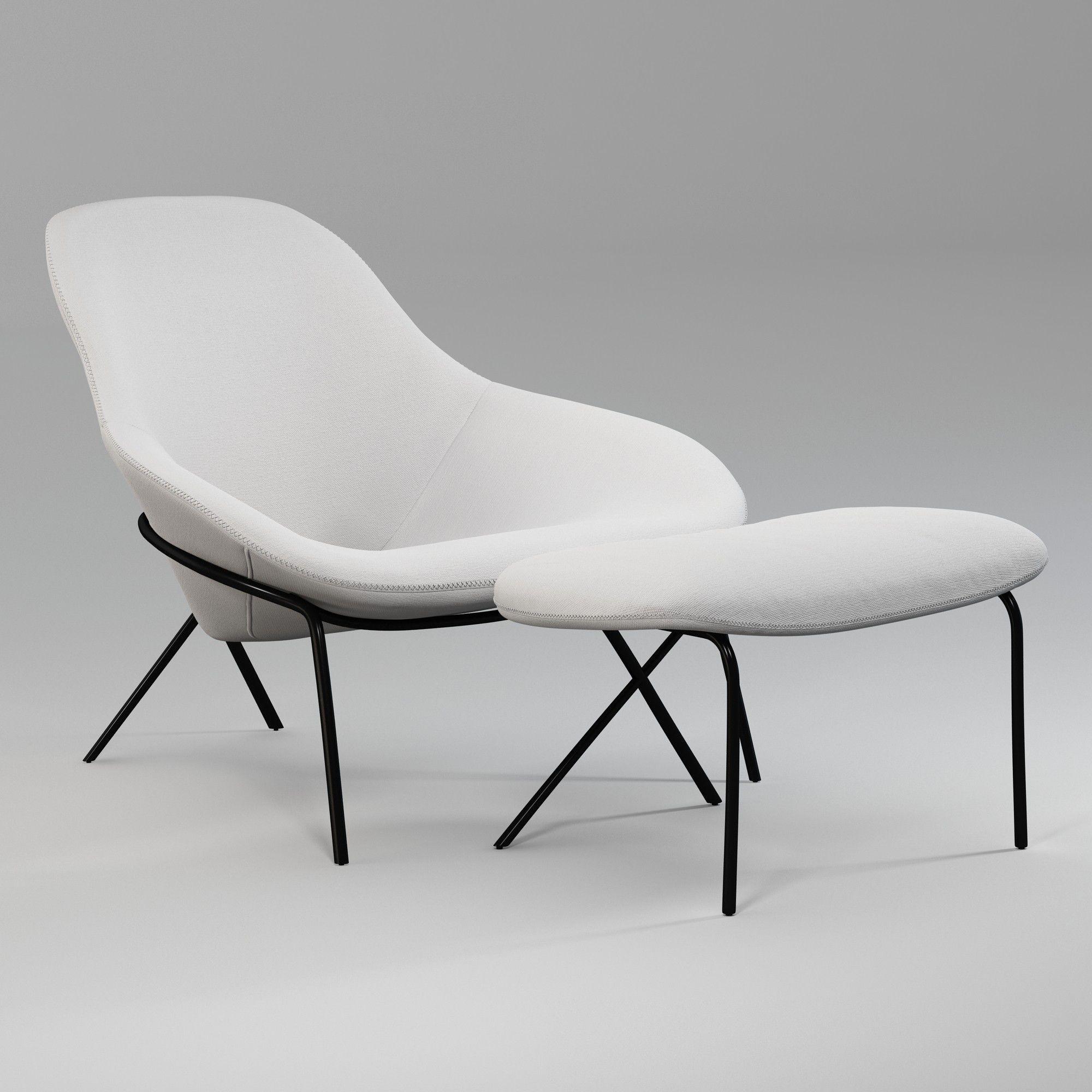 Cross Leg Lounge Chair Ottoman Furniture The Conran Shop Chaise Fauteuil Mobilier De Salon