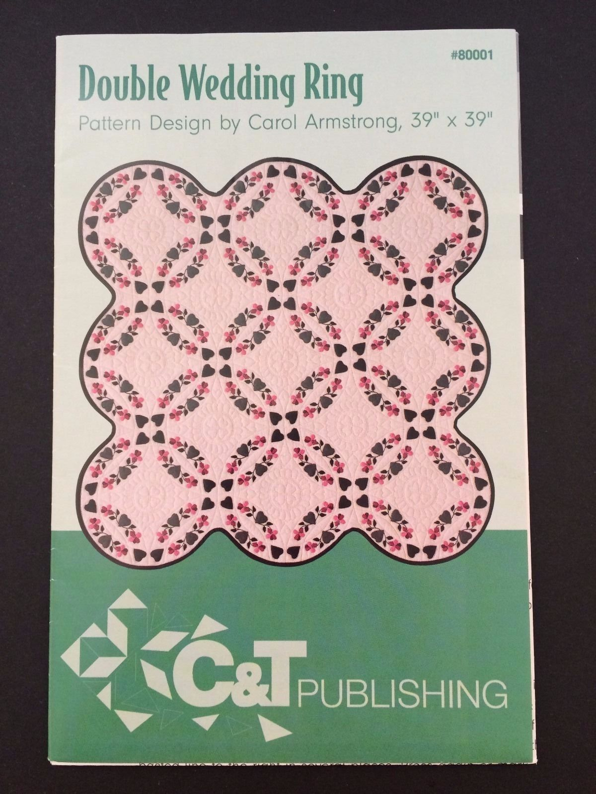 Double Wedding Ring Quilt Pattern - Hand Applique - C & T Publishing ...