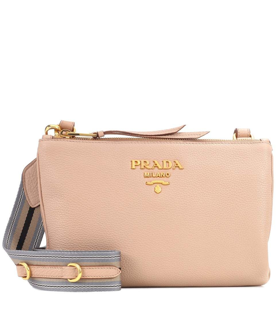 931b7225e2 PRADA Daino Small leather crossbody bag.  prada  bags  shoulder bags   leather  crossbody  lining